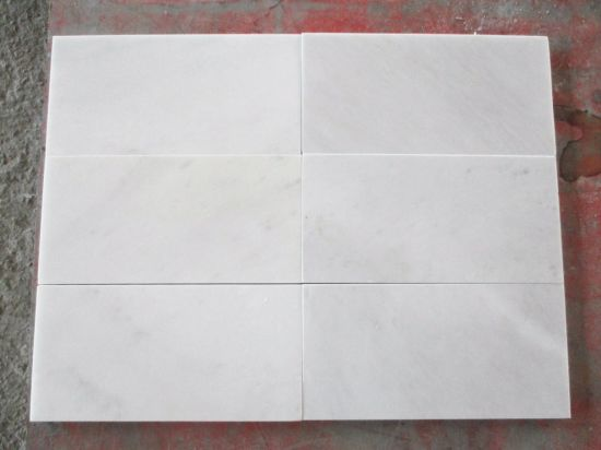 Good Quality Chinese Calacatta Eastern White Marble Tiles