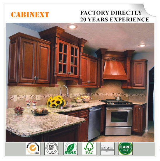 American Traditional Furniture Kitchen Cabinets Solid Wood Factory Direct