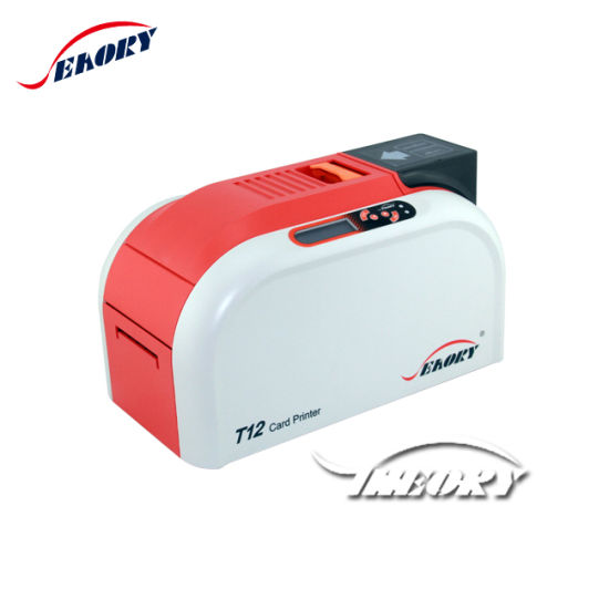 Seaory T12 PVC Card Printer/Plastic Card Printer/Student ID Card Printing Machine with Low Noise in Service pictures & photos