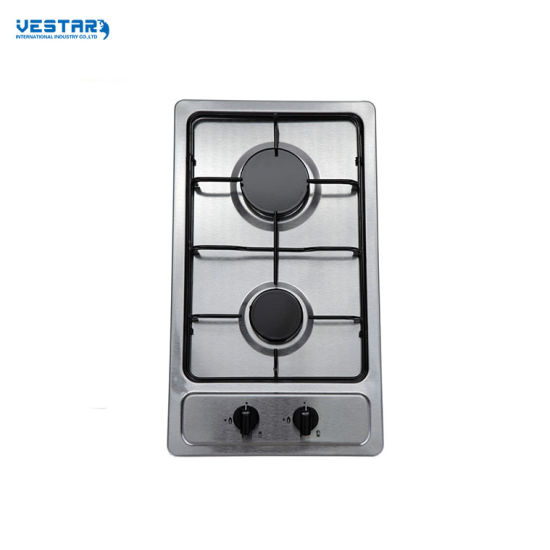 2 Burners Glass Type Built in Gas Stove/Gas Hob/Gas Cooker