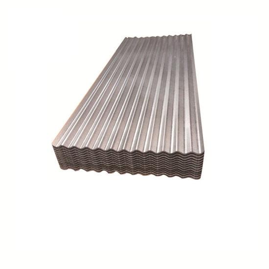 All Types of 55% Aluminum Zinc Aluzinc Corrugated Steel Roofing Sheet