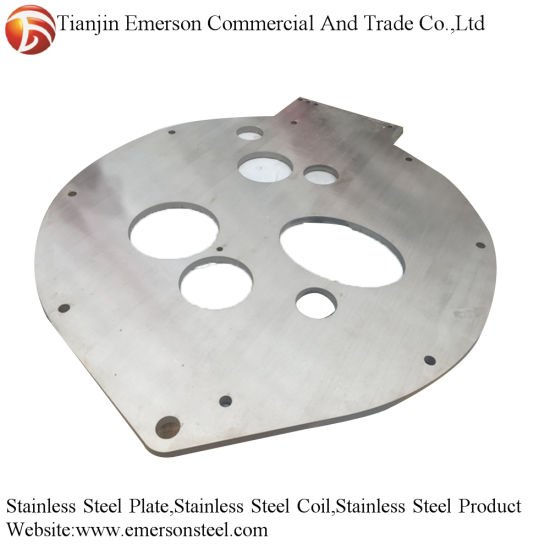 OEM CNC 304 Ss Sheet Metal Fabrication Stainless Steel Plate Price