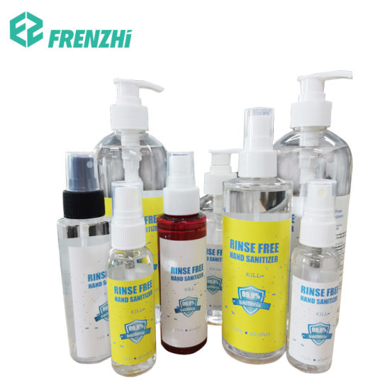 Bulk Sale Rinse Free Quick Dry Alcohol Hand Sanitizer Gel Hand Wash with Pump Bottles
