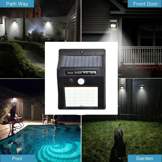 30LED Solar Motion Sensor Light