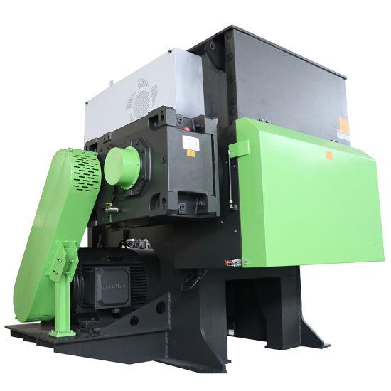HS Single Shaft Plastic Shredder Recycling Machine for Boards Plastic Boxes Films Raffias