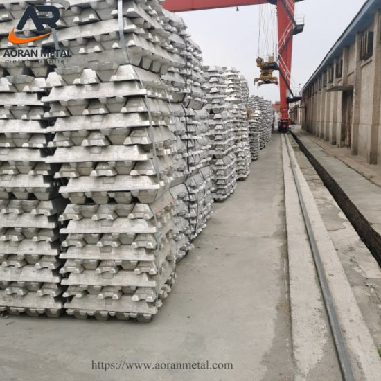 High Pure High Quality Aluminum Ingot 99%-99.9% with Factory Price