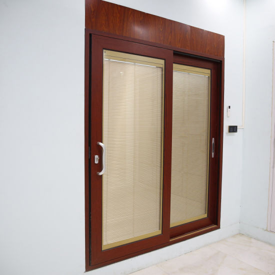 Customized Security Aluminum Glass Casement Sliding Round Entrance Door Factory Price Made in China