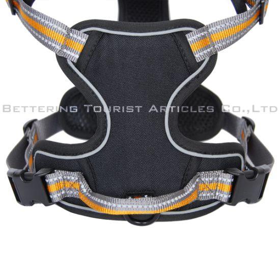 Custom No Pull Reflective Dog Harness Breathable Adjustable Dog Vest