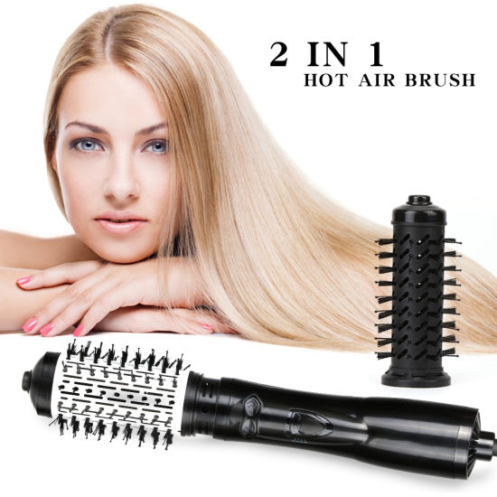Professional Brush Hair Blow Dryer with Comb Attachment