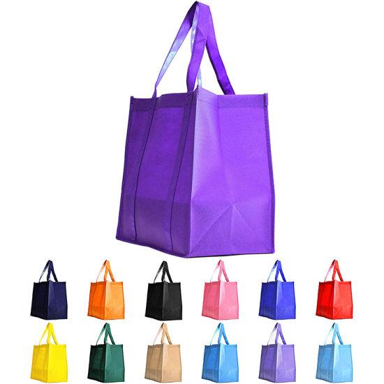 Heavy Duty Grocery Tote Reusable Shopping Polypropylene Non Woven Bag