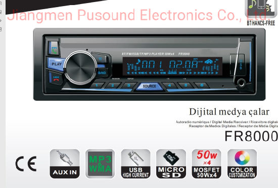 Wholesale Fixed Panel Car MP3 Player with FM USB SD Display