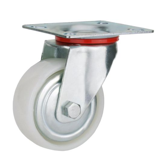 White PP Wheel Swivel Caster