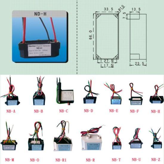 Factory Customized Air Purifier Parts Plasma Ion Generator Plasma Generator