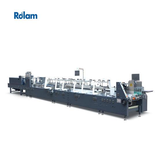 Automatic High Speed 4/6 Corner Pasting Folder Gluer Paper Box Machine (800GS) Series