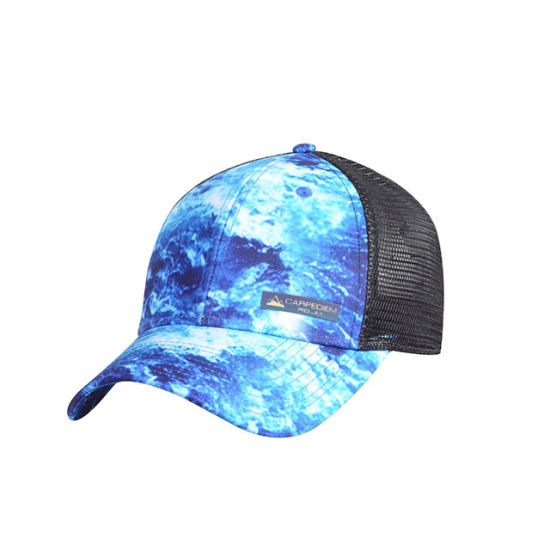 Sublimation Print Six Panel Mesh Cap pictures & photos