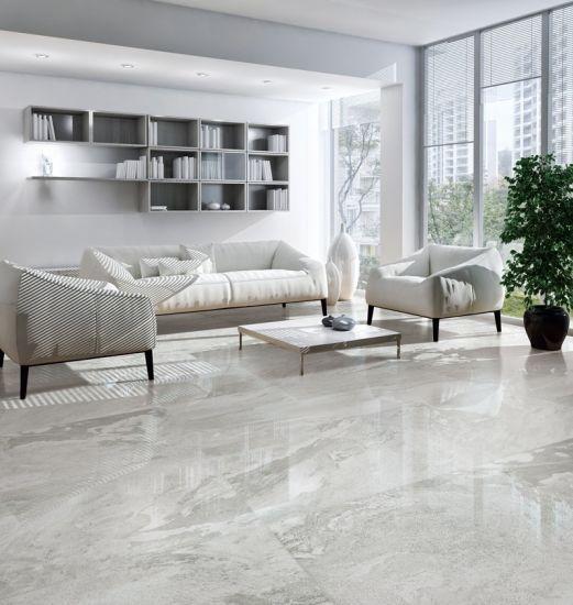 600X1200mm Living Room Full Body Glossy Glazed Rustic Porcelain Tile
