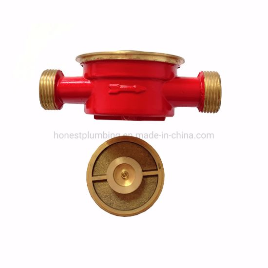 High Quality Brass Single Jet Water Meter Parts of 13D, 20d