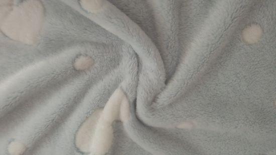 Polyester Printed Fashion Dress Garment Blanket Knitting Textile Fleece Fabric