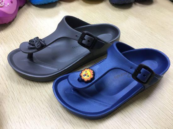 Comfortable EVA Flip Flops Custom Printed Slippers From China, Slippers Kids