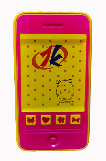 Retail Plastic Battery Operated Phone Toy Sound Phone Toy for Kids with 4 Different Funny Sounds