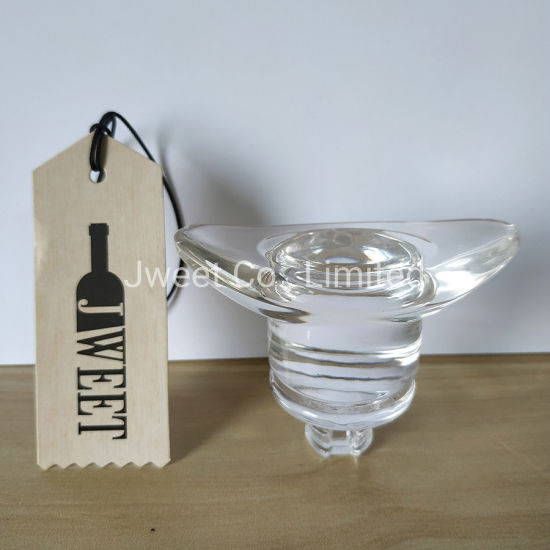 Special Shape Glass Stopper for Tequila Glass Bottle