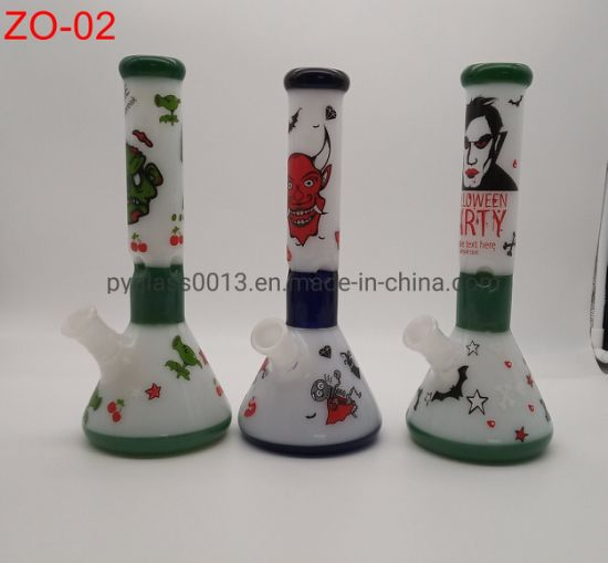 Straight Glass Smoking Waterpipes 14mm Joint Water Pipes Wholesale