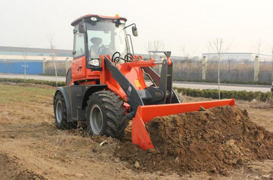 Ce Approved 2.5ton Small Building Loader with Pallet Forks pictures & photos