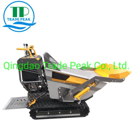 Ce Quality All Terrain Mini Dumper for Forestry