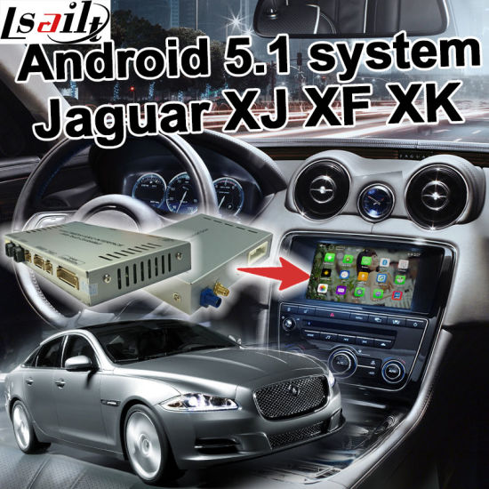 Android 5.1 4.4 GPS Navigation Box for Jaguar Xf Xk Xj 06-11 etc Video Interface with Gvif Cast Screen Youtube Waze pictures & photos