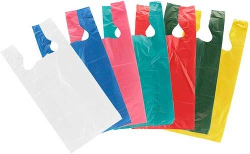 Plastic T-Shirt Bag (Without Printing) / Plastic Shopping Bag