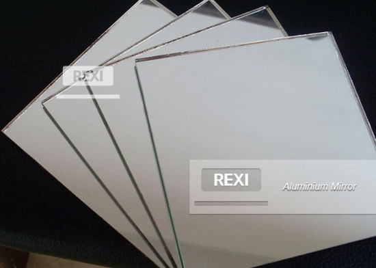 2mm 3mm 4mm 5mm 6mm Silver Mirror Aluminum Aluminium Mirror Glass Decorative Bathroom Mirror Safety Clear Float Glass Mirror Factory Price
