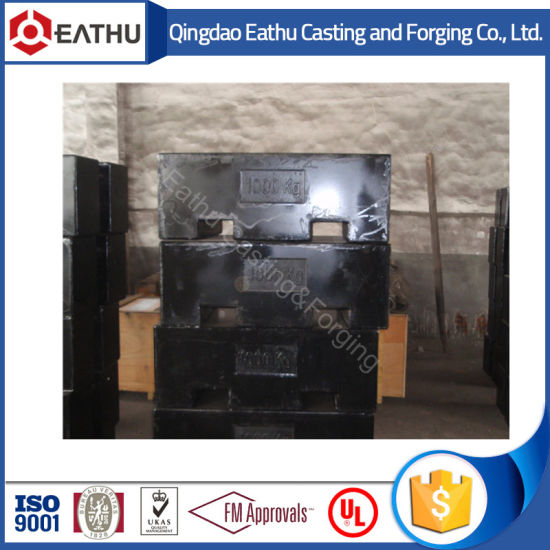 Counter Weight Cast Iron 1000kg