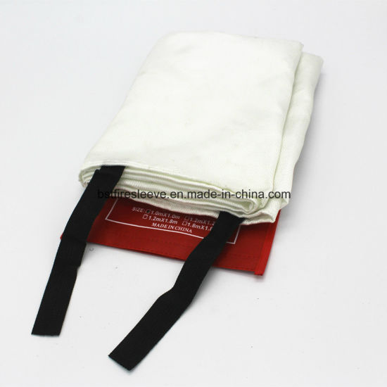 Fire Fighting Emergency Fireproof Insulation Fiber Glass Fire Blanket pictures & photos