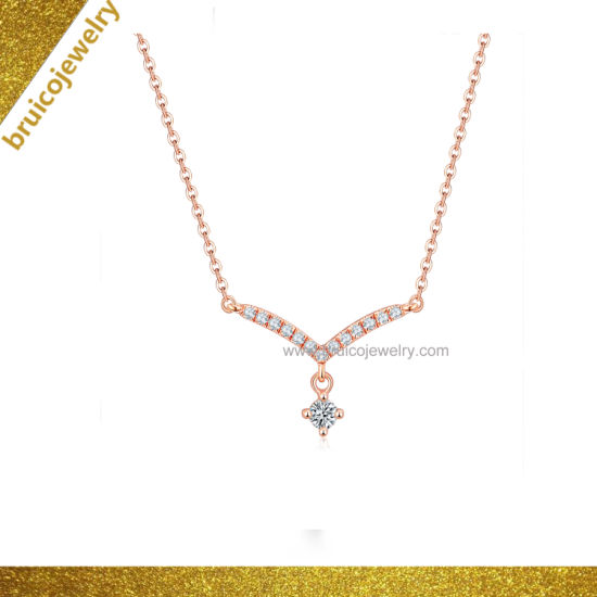 Simple Design Necklace for Women with Charm Pendant pictures & photos