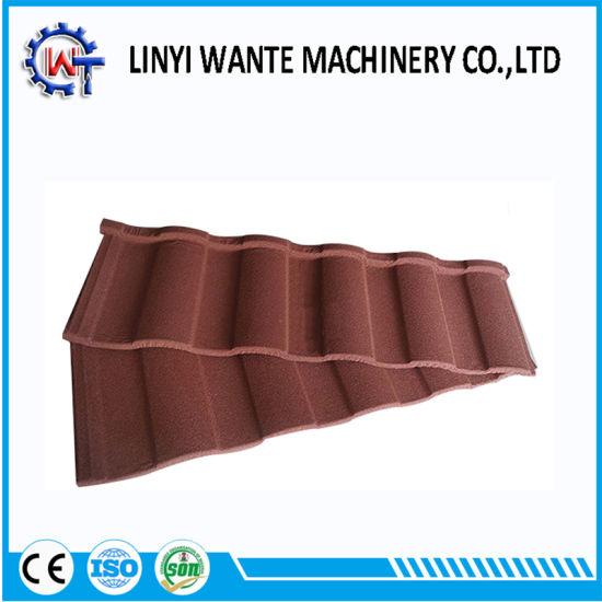 Building Material Steel Sheet Stone Coated Metal Roman Roof Tile
