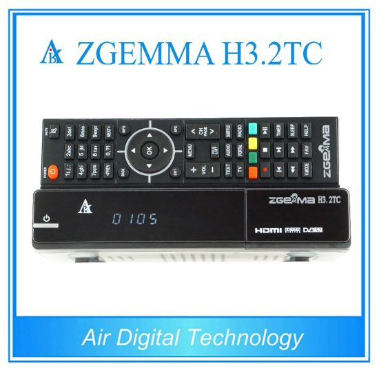 Zgemma H3.2tc with Bcm7362 Dual Core DVB-S2+ 2*DVB-T2/C Dual Hybrid Tuners Linux OS Enigma2 Satellite Receiver pictures & photos