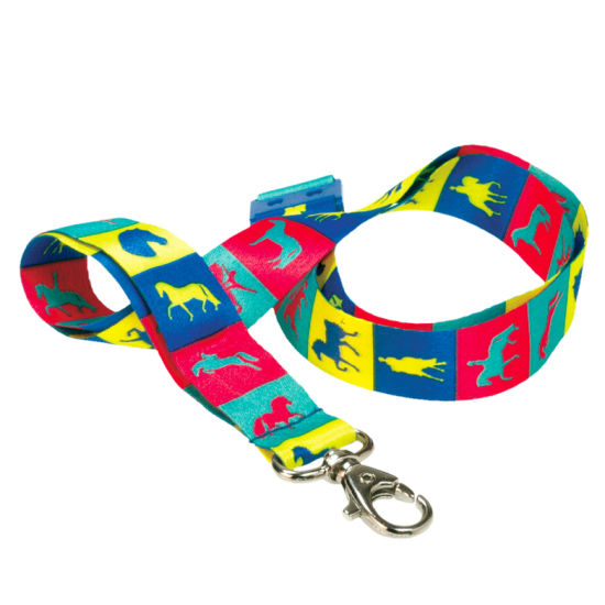 Dye Sublimation Heat Transfer Lanyard with Full Color pictures & photos