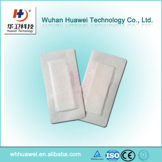 Breathable Promotes Wound Rapid Healing Adhesive Nonwoven Wound Dressing