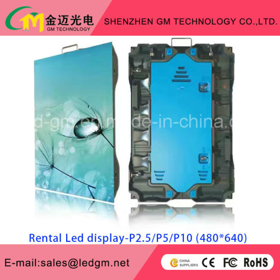 New High-End Rental Product, High Gray Scale, P4.81 Outdoor Display pictures & photos