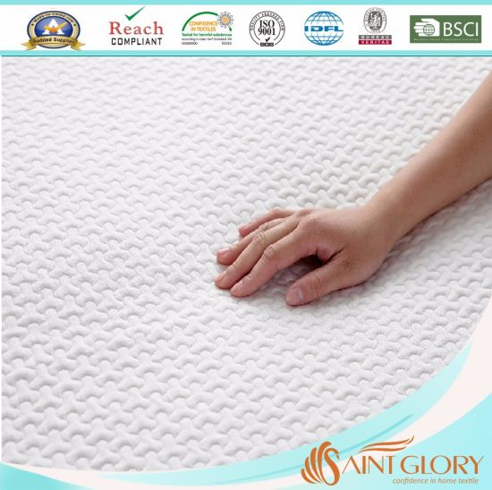 Quilted Filled with Gelled Microfiber Fit Mattress Protector pictures & photos