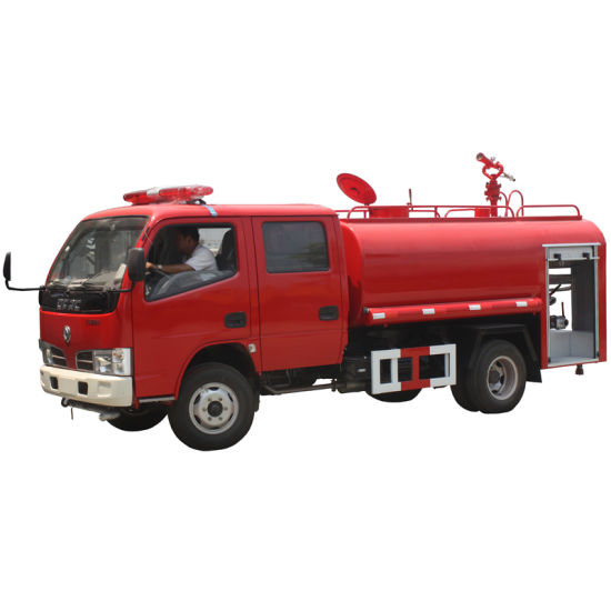 4X4 All Wheel Drive Water Tank Fire Truck