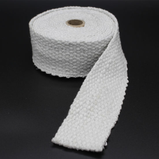 Thermal Insulation Materials Fireproof High Temperature Glass Fiber Tape