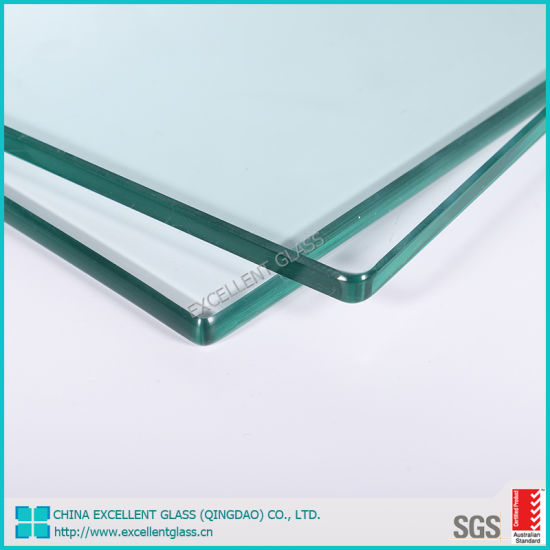 Tempered Glass Table Top Safety Table