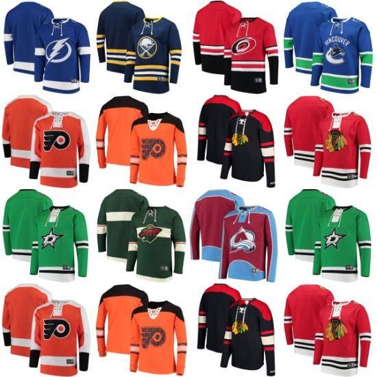 Flyers Blackhawks Stars Wild Lightning Hurricanes Hat-Less Uncapped Pullovers Hoodies