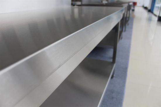 Food Service Stainless Steel Work Table with Wholesale Price pictures & photos