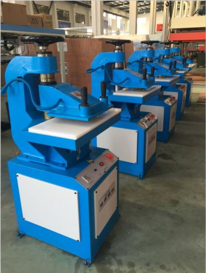 10t Hydraulic Swing Arm Cutting Machine pictures & photos