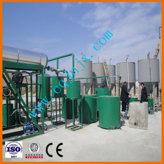 High Oil Yield Black Car Motor Oil Regeneration Equipment pictures & photos