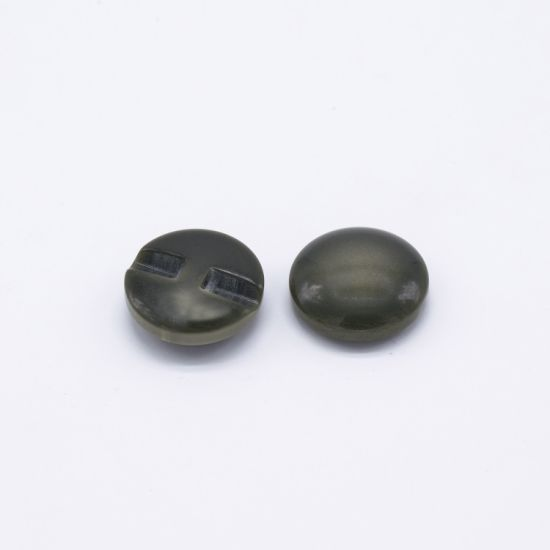 Customs Black Vintage Wooden Pearl Buttons and Pins
