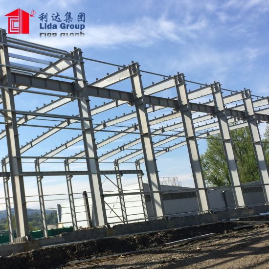 China Large Span Prefabricated Warehouse Materials Steel