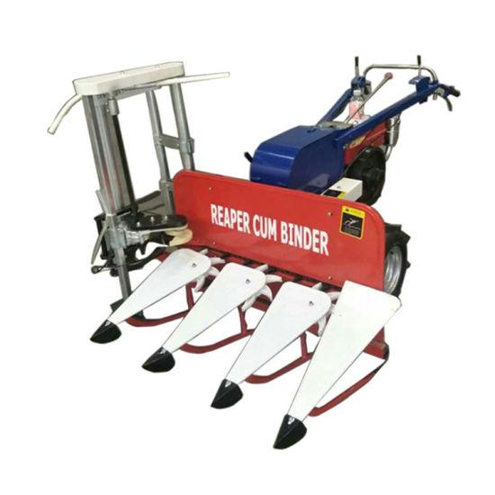 8HP Diesel Engine Multi-Function Grainbinder/Reaper Cum Binder for Agriculture